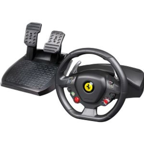 Guillemot Ferrari 458 Italia - Wheel and pedals set - wired - for PC, Microsoft Xbox (4460094)