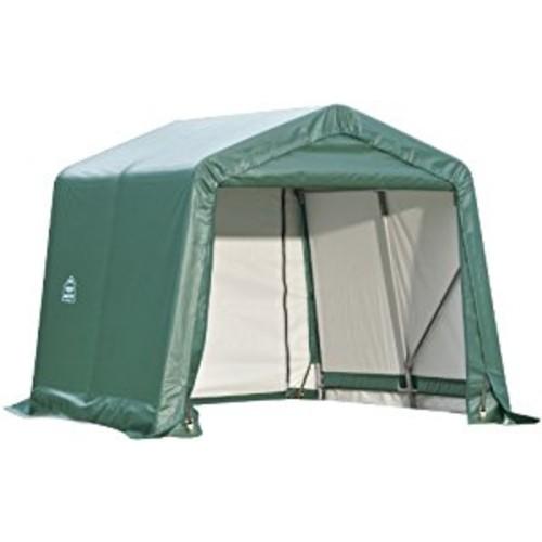 ShelterLogic 72814 Green 10'x12'x8' Peak Style Shelter [Green, 10'x12'x8']