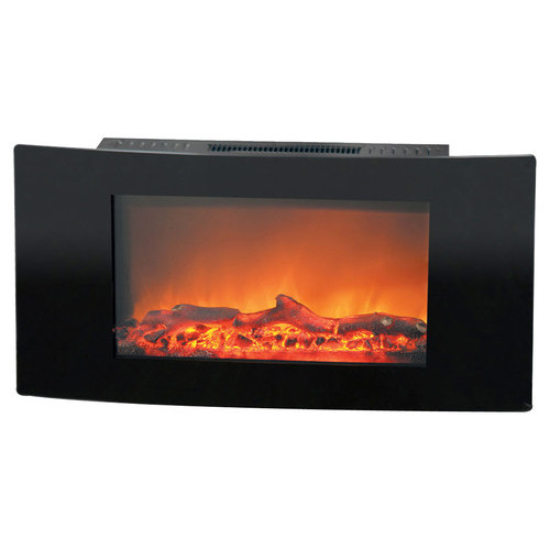 Cambridge - Callisto Wall-Mount Electric Fireplace - Black