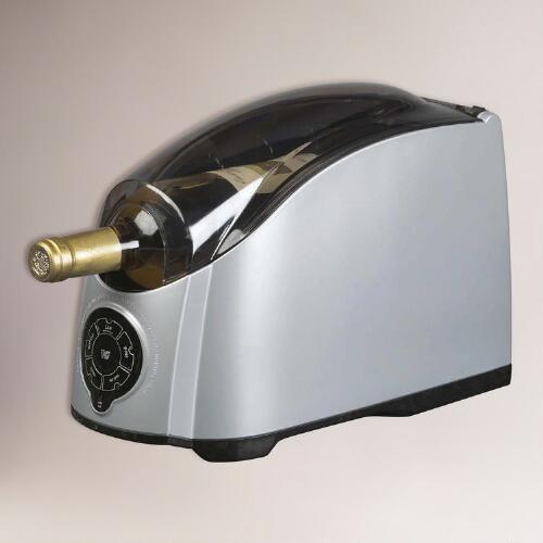 Chrome Cooper Cooler Rapid Beverage & Wine Chiller
