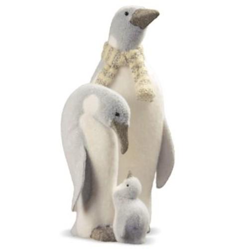 National Tree Company 18-Inch Penguin Family Holiday Decoration