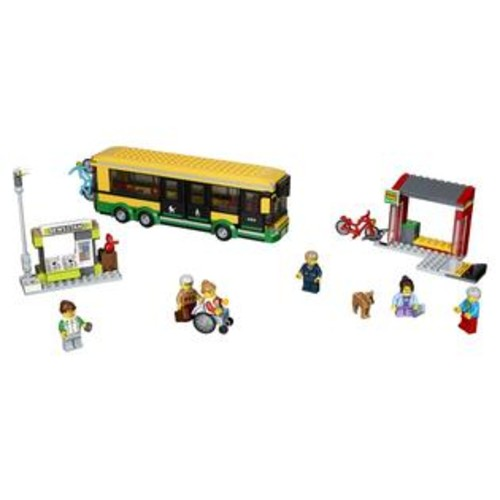 LEGO City Town Bus Station (60154)
