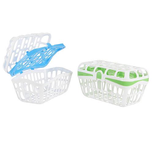 Babies R Us 2 Pack Dishwasher Basket - Green/Blue