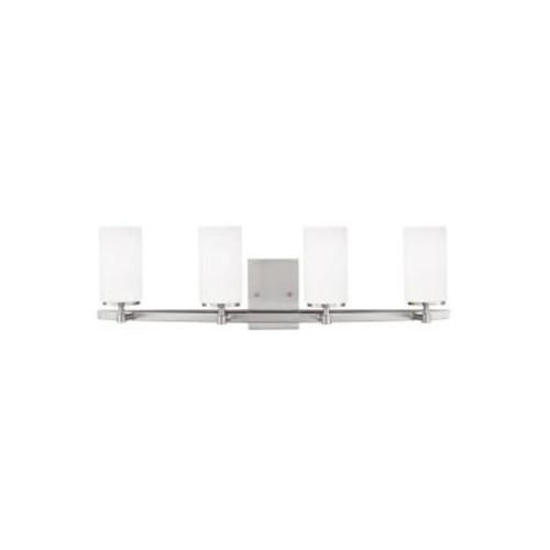 Sea Gull Lighting Alturas 4-Light Brushed Nickel Vanity Light