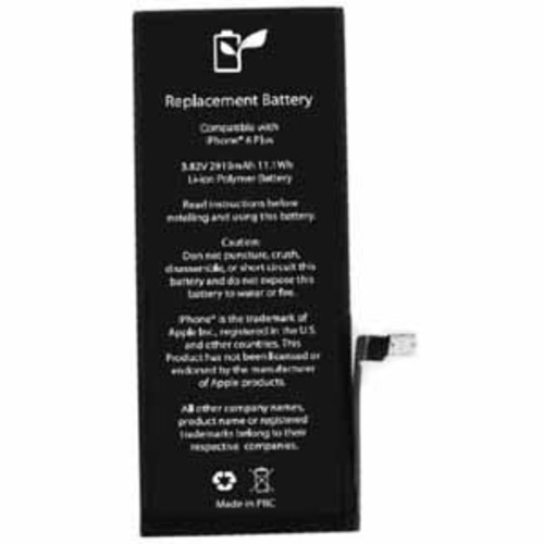 Ontrion 2915 mAh Lithium Ion Replacement Battery for iPhone 6 Plus