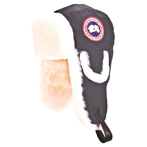 CANADA GOOSE 'Arctic' Tech Pilot Hat With Genuine Shearling Lining