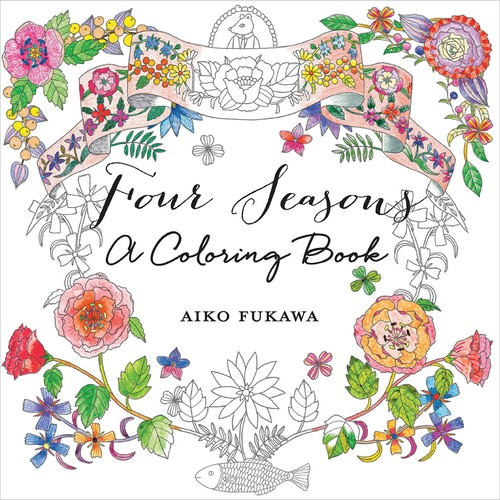 St. Martin's Books Four Seasons: A Coloring Book