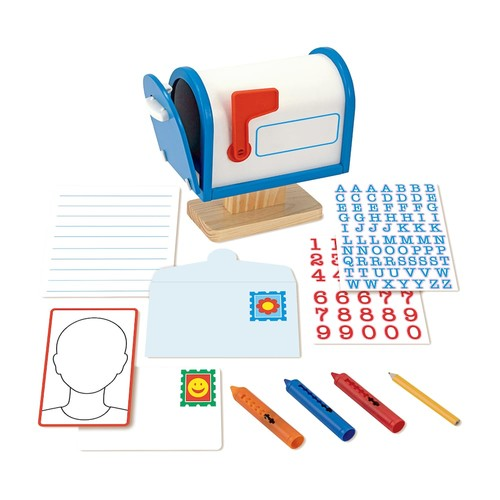 Melissa & Doug My Own Wooden Mailbox Activity Set and Educational Toy [Standard]