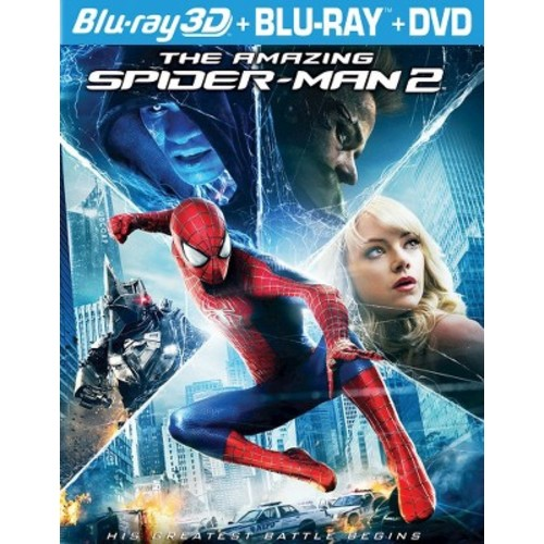 The Amazing Spider-Man 2 [Includes Digital Copy] [Ultraviolet] [3D] [Blu-ray/DVD]