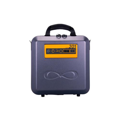 KaliPAK 201 192-Watt Hour Portable Solar Generator Kit - Black