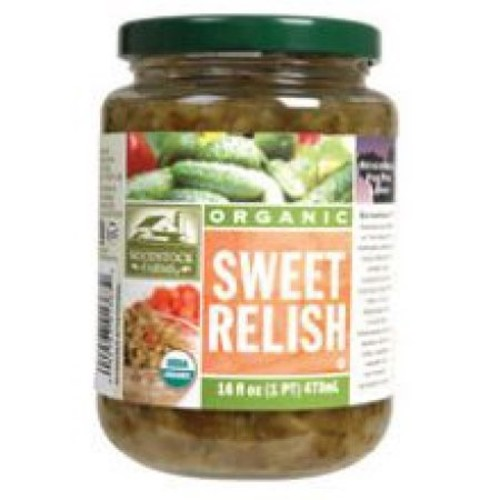 Woodstock Farms Organic Sweet Relish -- 16 oz