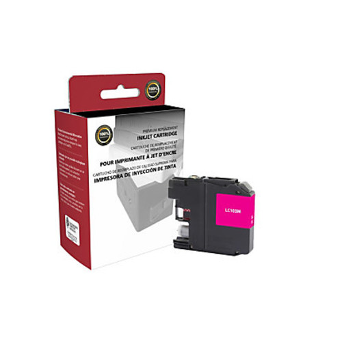 Clover Technologies Group High-Yield Remanufactured Ink Cartridge, Magenta, 118068 (Brother LC103M)