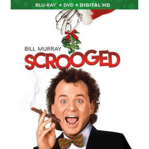 Scrooged [Blu-Ray] [DVD] [Digital HD]