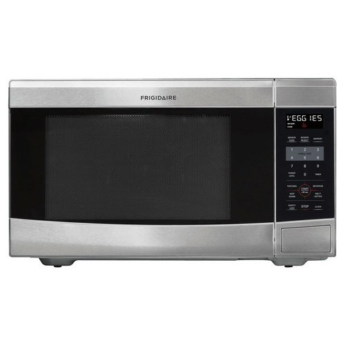 Frigidaire - 1.6 Cu. Ft. Mid-Size Microwave - Stainless steel