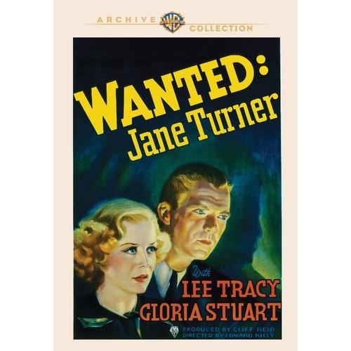 Wanted: Jane Turner [DVD] [1936]