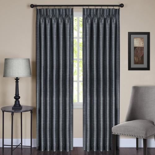 Achim Parker Pinch Pleat Window Curtain Panel