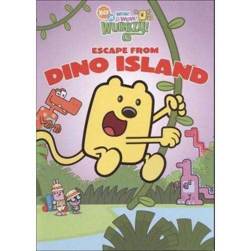 Wow! Wow! Wubbzy!: Escape from Dino Island (dvd_video)