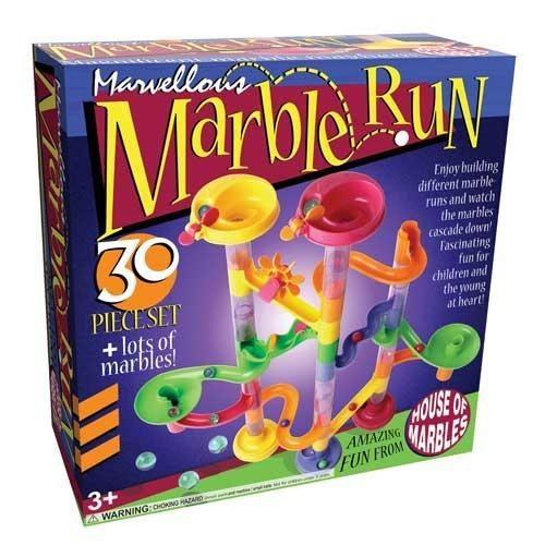 AreYouGame Marvellous Marble Run - 30 Piece Set