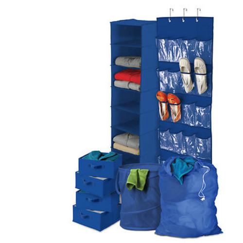Honey-Can-Do 8-Pc. Organization Kit - Blue