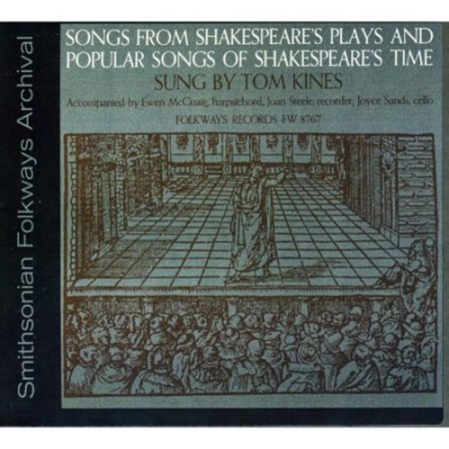 Songs from Shakespeare's Plays and Songs [CD]