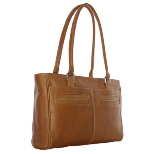 Piel Personalized Ladies Laptop Tote With Pockets