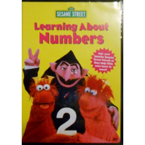 SESAME S-LEARNING ABOUT NUMBERS (DVD)