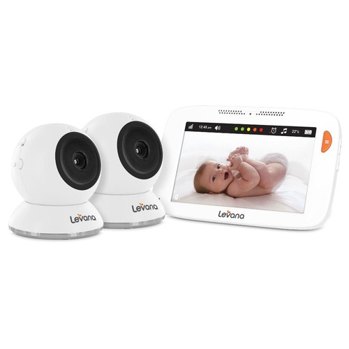 Levana Shiloh 5 Inch Touchscreen Video Baby Monitor with 2 Cameras