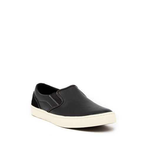 Nantucket Deck Leather Slip-On Sneaker