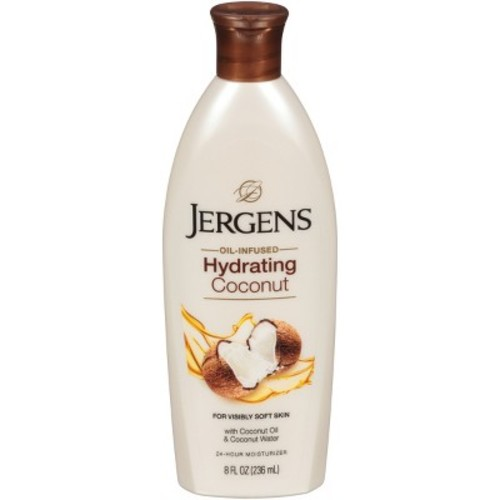 Jergens 8 oz coconut Moisturizing Lotion