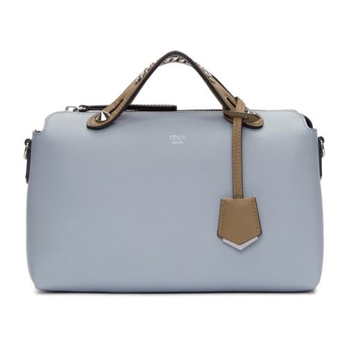 FENDI Blue Regular 'By The Way' Boston Bag