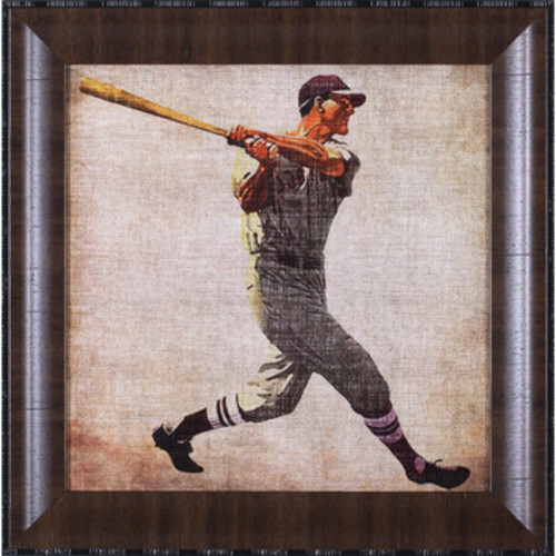 Vintage Sports VI by John Butler Framed Graphic Art