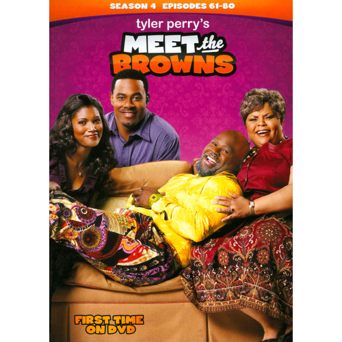 Tyler Perry's Meet the Browns: Season 4 [3 Discs] [DVD]