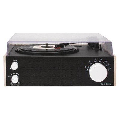 Crosley Switch Turntable - Black/Natural (CR6023A-NA)