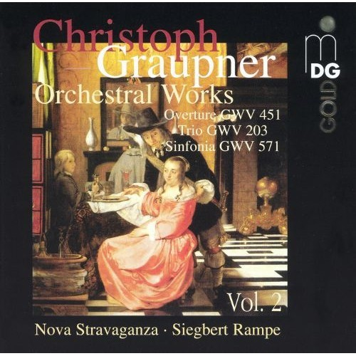 Graupner: orchestral Works And Chambe CD (2004)