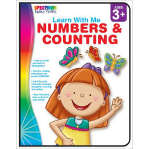Learn with Me: Numbers and Counting, Ages 3+