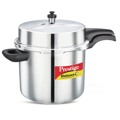 Prestige Cookers Deluxe Stainless Steel Pressure Cooker