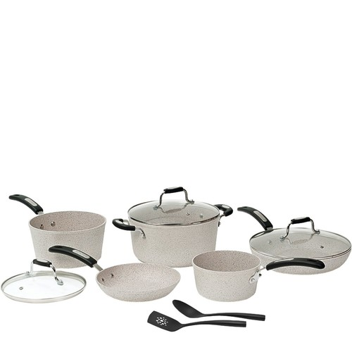 Starfrit 10-Piece Cookware Set with Bakelite Handles