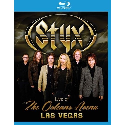 Styx: Live at the Orleans Arena, Las Vegas [Blu-ray] [2014]
