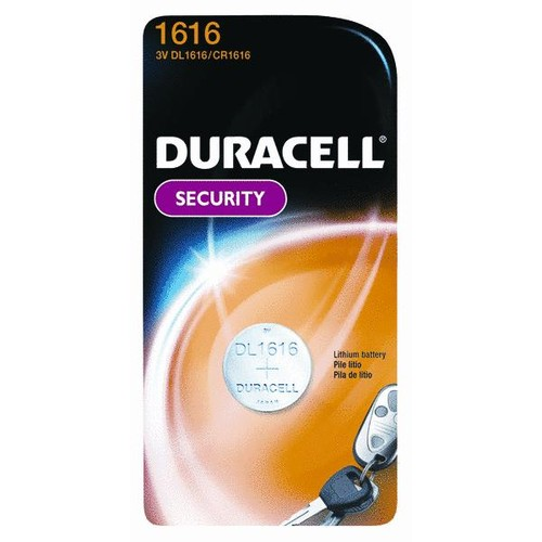 Duracell 1616 Lithium Coin Cell Battery - 43487