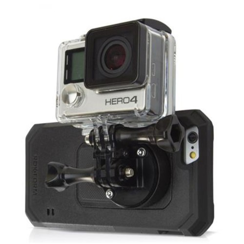Rokform Universal Mount for GoPro with Mountable Case for iPhone 5c 335601-IP5C