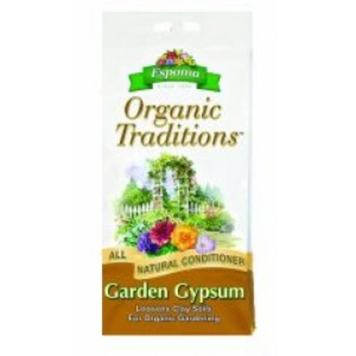 Espoma Organic Traditions Garden Gypsum 36 Pound