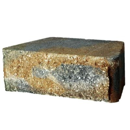 Pavestone RockWall Small 11.75 in.x 6.75 in.x 4 in. Yukon Concrete Retaining Wall Block (144 Pcs / 46.5 Face ft. / Pallet)