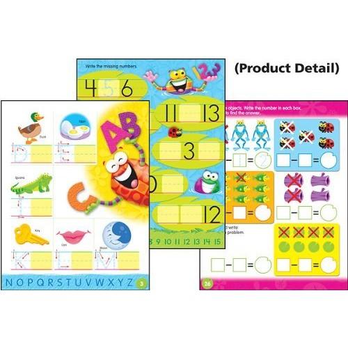 Trend Enterprises Leap Into Kindergarten Wipe-Off Book (28 Pages) (1 Piece)