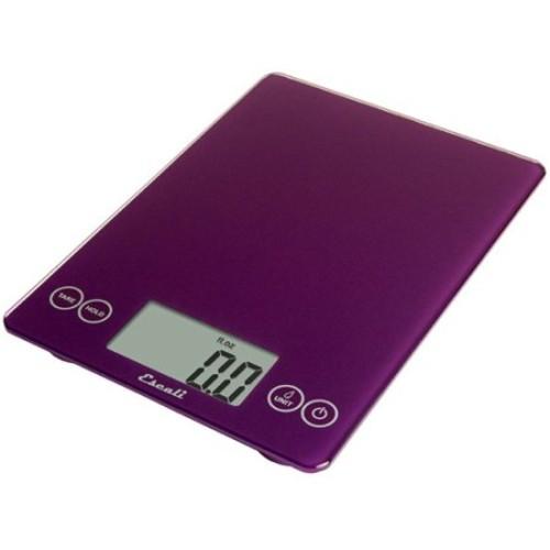 Escali - Arti Glass Digital Food Scale 157DP Deep Purple