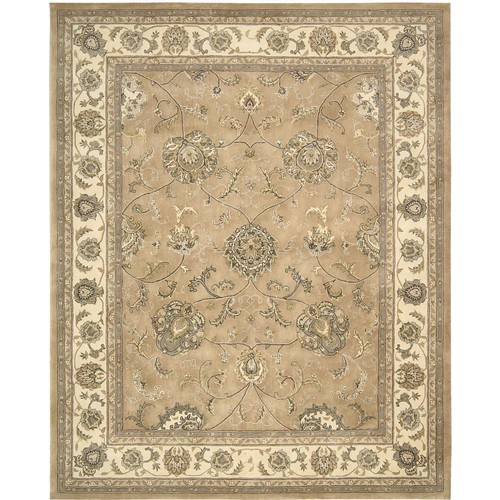 Nourison Silk Touch Collection Sch03 5' X 8' Area Rug