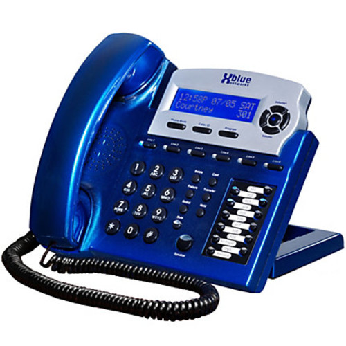 XBLUE Networks X16 Corded Telephone System, Vivid Blue