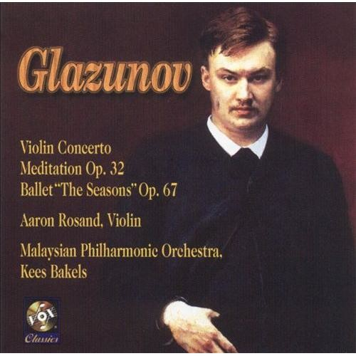 Glazunov Concerto: Meditation Seasons - CD