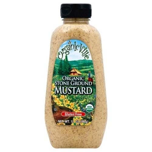 Organicville Organic Stone Ground Mustard -- 12 oz