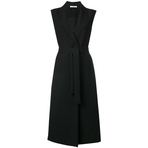 VIVETTA Sleeveless Belted Coat