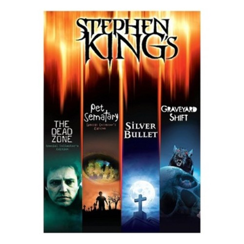Stephen King's The Dead Zone/Pet Sematary/Silver Bullet/Graveyard Shift (DVD)